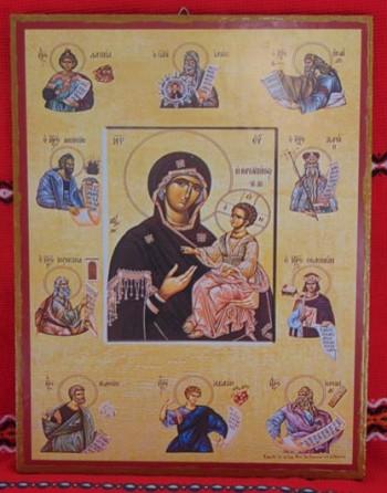Икона-принт. Богородица
