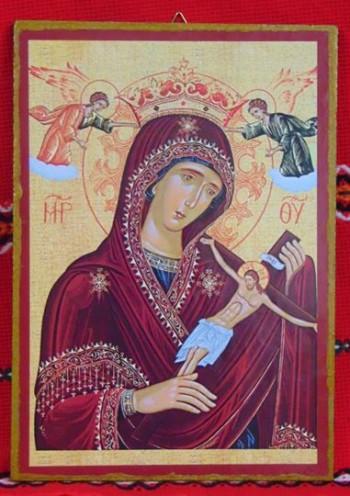 Икона-принт.Богородица