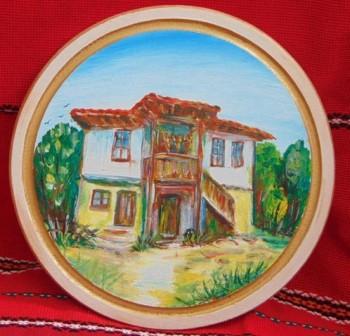 Рисуван талар