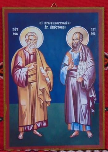 Икона-принт Св.Петър и Павел