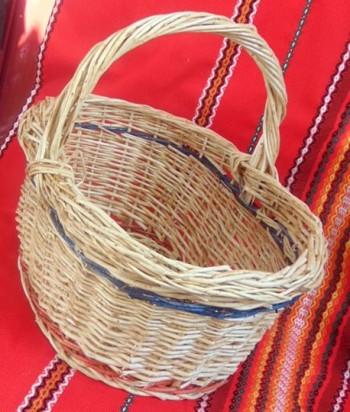 Плетена кошница